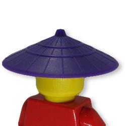 アイテムポストで買える「菅笠(ダークパープル)」の画像です。価格は124円になります。