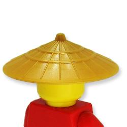アイテムポストで買える「菅笠(パールゴールド)」の画像です。価格は57円になります。