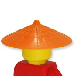 アイテムポストで買える「菅笠(オレンジ)」の画像です。価格は71円になります。