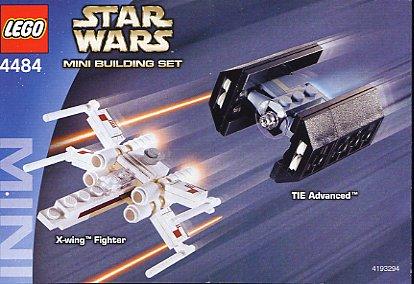 画像1 レゴ スターウォーズ STAR WARS MINI X,wing Fighter  TIE Advanced