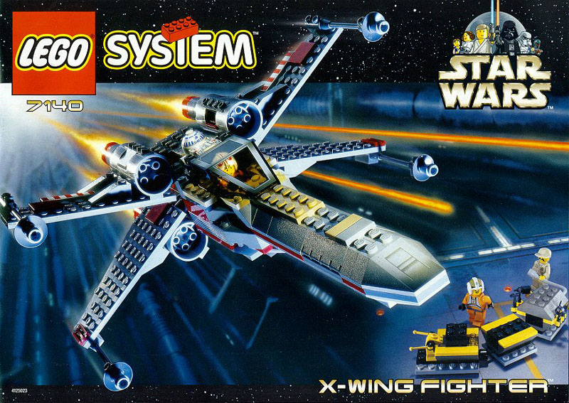 画像1 レゴ スターウォーズ STARWARS 7142 X,wing Fighter?<送料無料