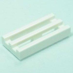 ◆50個セット◆グリル1x2タイル(ホワイト)