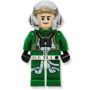 レベルパイロットA-Wing グリーン ジャンプスーツ