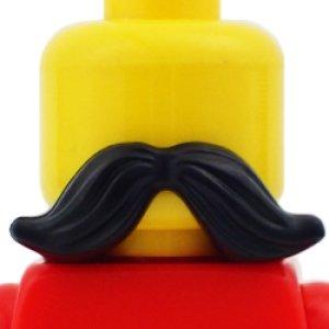 口髭(ブラック)
