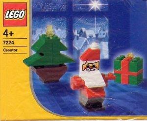 LEGO Santa, Tree, and Present