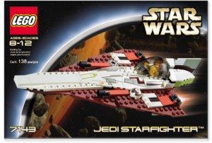 レゴ スターウォーズ STAR WARS Jedi LEGO STARfighter(送料無料)