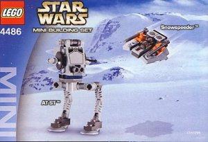 レゴ スターウォーズ STAR WARS MINI AT-ST? & Snowspeeder